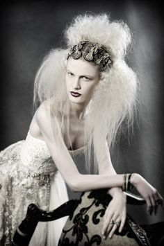 After Dark Collection   Gothic Meets Victorian  www.sharonblain.com  hair, long hair, updo