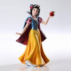 Disney Couture de Force, Snow White Disney Couture de Force is a stunning collection inspired by Disney's reigning princesses and vampy villains embelleshed in haute couture. No detail is overlooked from faux jewels to opalescent paints bring each sculpture to life. $64.95
