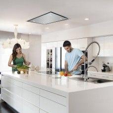 Delux Slimline Ceiling x Stainless Steel Cooker fan Kitchen hood Extractor hood Kitchen Extractor, Kitchen Exhaust, Extractor Hood, Extractor Fans, Kitchen Fan, Kitchen Hoods, Open Plan Kitchen, Island Cooker Hoods