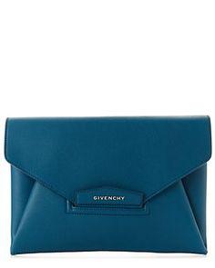 Givenchy Antigona Medium Sugar Leather Envelope Clutch
