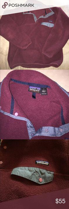 Patagonia sweatshirt Marron Patagonia fleece sweatshirt. Men's size medium Patagonia Other