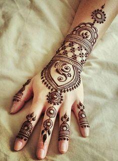 Bridal henna back arabic mehndi 69 ideas for 2019 Henna Designs For Kids, Mehndi Designs For Fingers, Arabic Mehndi Designs, Latest Mehndi Designs, Simple Mehndi Designs, Henna Tattoo Designs, Mehandi Designs, Heena Design, Mehndi Images