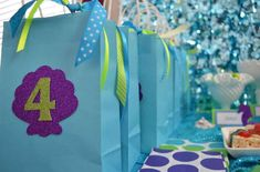 Under the Sea/ Mermaid Party Birthday Party Ideas | Photo 2 of 32 | Catch My Party