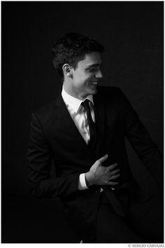 Xavier Serrano by model turned photographer Sergio Carvajal - December 2014
