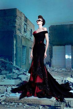 Nicolas Jebran - Couture - Fall-winter 2013-2014 - http://www.flip-zone.net/fashion/couture-1/independant-designers/nicolas-jebran-4282