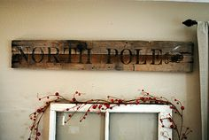 diddle dumpling: A Recycled Wood Sign and More Christmas!