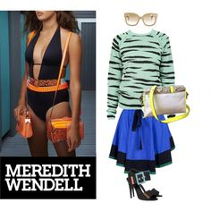"""Sporty Beach"" by meredithwendell on Polyvore"