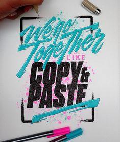 goodtypography: Work by el_juantastico Follow us: @betype.co