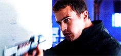Why is this part so awesome?! Oh, probably because it's Theo James
