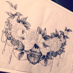 In searching for a skin !! A chest ! ©Tattoo-by-Dodie 2014. Or fix it a little to make it a sternum/underboob tattoo