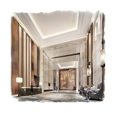 CCD-重庆万豪酒店公共区域新版室内设计