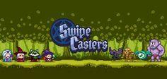 Swipe Casters - un divertente casual game per iPhone e Android! Swipe Casters è un nuovo e divertente casual game ricco di giocabilità e di divertimento per tutte le età!  Il gioco (disponibile per iPhone e Android) vi mette nei panni di un maghetto pronto a fa #casualgame #giochi #android #iphone