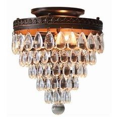 allen + roth Eberline 9.06-in W Oil-Rubbed Bronze Ceiling Flush Mount Light - FINAL LIGHT AS PURCHASED TODAY FOR MASTER BEDROOM!