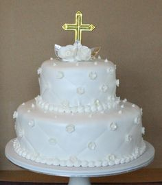 hectoru002639s custom cakes 1st communion baptism hector s custom cakes zebra baby shower girl 813x933