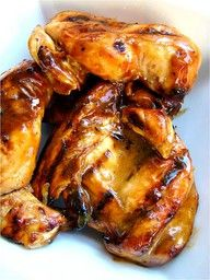 Honey Dijon BBQ Chicken