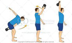 kettlebell snatch exercise