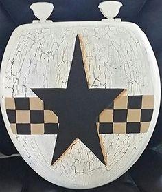 Primitive Country Crackled Round Check Tan and Black Prim Star, http://www.amazon.com/dp/B0127SA1SS/ref=cm_sw_r_pi_awdm_aENRvb0TYMZYB