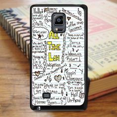 All Time Low Art Music Qoutes Lyric Samsung Galaxy Note 3 Case