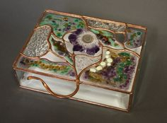 Fused Glass Box by BoxesByNeal on Etsy