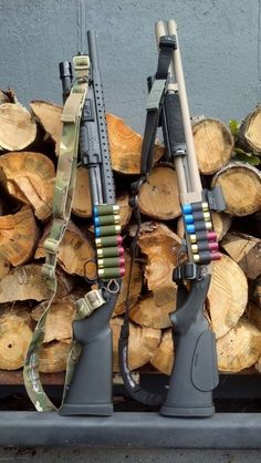 Mossberg 590 & Remington 870 are two of the most popular shotguns used for home defense and by the law enforcement community alike. Both nicely dressed here. Weapons Guns, Guns And Ammo, Ak47, Combat Shotgun, Tactical Shotgun, Remington 870 Tactical, Fire Powers, Firearms, Shotguns