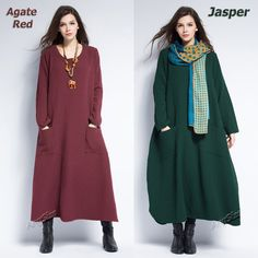 Anysize sides slit jacquard thick linen&cotton Winter by AnySize