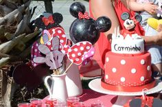 photo booth Minnie Mouse DIY