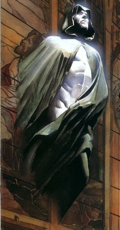 The Spectre by Alex Ross (Love Ross' art!) This painting is beautifully, and hauntingly done. Arte Dc Comics, Dc Comics Characters, Fun Comics, Comic Book Heroes, Marvel Heroes, Alex Ross, Comic Book Artists, Comic Books Art, Entertainment