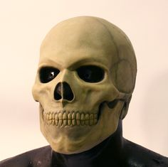 Skull latex mask by DragonArmoury on Etsy. $25.95, via Etsy.