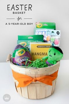 Easter basket ideas for kids basket ideas easter baskets and easter easter basket ideas for kids negle Choice Image