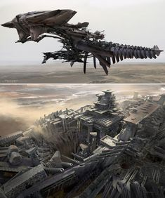 Concept Art for John Carter by Ryan Church                              …