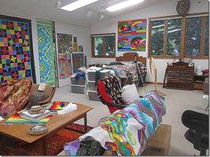 Kay Koeper Sorensen's working studio space 2
