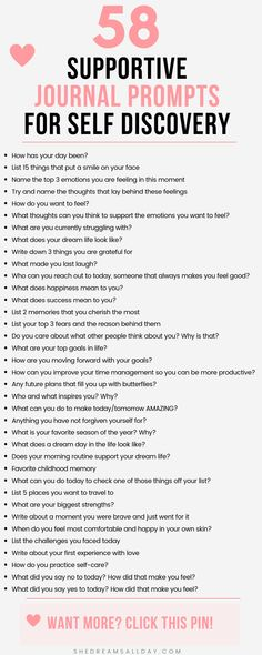 58 helpful journal prompts for self discovery and more self-awareness. - 58 helpful journal prompts for self discovery and more self-awareness. Start journaling today so yo - Journal Questions, 365 Questions, Online Dating Questions, Deep Questions To Ask, Random Questions, Personal Questions, Therapy Journal, Art Therapy, Mental Health Journal