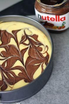 Nutella-juustokakku - Lunni leipoo