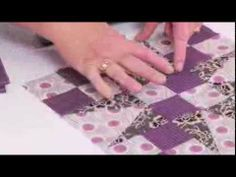 From the Sizzix Quilting Workshop: Fifty Four Forty or Fight Block