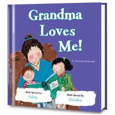 Grandma Loves Me Children's Book