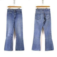70s Bell Bottom Levi's Jeans / Medium Wash by SpunkVintage on Etsy, $72.00