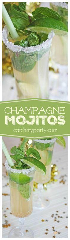 Champagne Mojitos   CatchMyParty.com