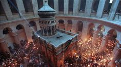 AWAKENING FOR ALL: Mysteries surround the opening of CHRIST'S tomb