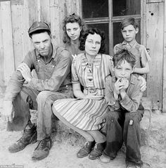 Portraits in defiance: Historic black and white images of gritty Dust Bowl…