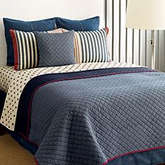 Blue Chambray Quilt and Quilt Sets Shop #Bedding and #Towels On #Sale #comfortersets #gift. Get remarkable deals bedding and bath on sale from top brands. Get #FREESHIPPING orders over $99 at Beddingstyle.com when you shop our bedding on sale and #linens and towels on sale, all from the comfort of your own #home.
