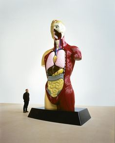 Sculpture by Damien Hirst.  #art #sculpture #body