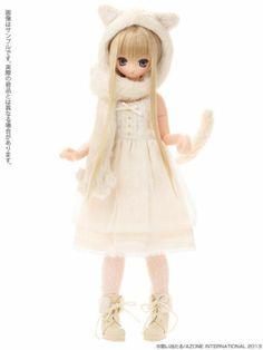Azone 1/6 Doll Excute Aika Komorebimori no Dobutsutachi Cat Pure Neemo