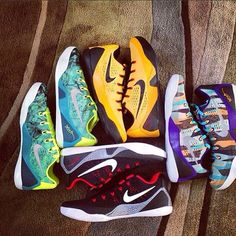 - Nike Kobe 9 Low EM (New Colorways to Release Soon) Kobe Sneakers, Kobe Shoes, Air Jordan Shoes, Kobe 9 Low, Ballin Shoes, Air Max Style, Air Max Classic, Baskets, Nike Flyknit Racer