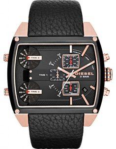 Diesel Fleet DZ7351 - Herreklokker - Denne klokken er designet av det verdenskjente merke Diesel, som har gjort et sterkt inntrykk på moteverdenen med sine klesdesign. Det gjør de også med sine klokkeserier i røff design og god kvalitet.