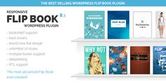 Responsive FlipBook Plugin . Responsive has features such as High Resolution: Yes, Compatible Browsers: IE9, IE10, IE11, Firefox, Safari, Opera, Chrome, Edge, Compatible With: WPML, WooCommerce 2.5, WooCommerce 2.4.x, WooCommerce 2.3.x, WooCommerce 2.2.x, Visual Composer 4.7.x, Visual Composer 4.8.x, Software Version: WordPress 4.5.x, WordPress 4.5.2, WordPress 4.5.1, WordPress 4.5, WordPress 4.4.2, WordPress 4.4.1, WordPress 4.4, WordPress 4.3.1, WordPress 4.3, WordPress 4.2, WordPress 4.1…