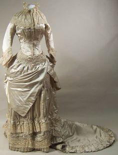 1882 Wedding Dress