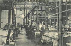 Billingsgate Market 1906 London Photography, Candid Photography, Street Photography, London Pictures, London Photos, Uk History, Family History, Old London, Vintage London