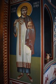Byzantine, Altar, Saints, Princess Zelda, Painting, Fictional Characters, Painting Art, Paintings, Fantasy Characters