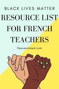 This article contains a growing list of books, movies, documentaries, texts, songs, IG accounts and MORE for French teachers to use in their classrooms. We need to ensure that we are consciously using a variety of resources with black characters and stories in our Core French & French Immersion classrooms.⁣ French Language Learning, Spanish Language, Dual Language, German Language, French Lessons, Spanish Lessons, High School Activities, Spanish Activities, Work Activities