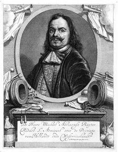 Michiel was van 1633 tot 1635 stuurman op de walvisvaarder Groene Leeuw. In 1636 werd hij kapitein op een kaperschip van de gebroeders Lampsins. Daarna ging hij voor hen als koopvaarder aan de slag. In 1641 en 1642 diende hij onder admiraal Gijssels. Met de rang van schout-bij-nacht was hij kapitein van de tot oorlogsschip verbouwde koopvaarder De Haze. In 1644 kocht De Ruyter een eigen schip, de Salamander. Hij voer toen als zelfstandige kapitein-koopman vooral op West-Indië en Barbarije.